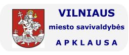Vilniaus miesto savivaldybės apklausa